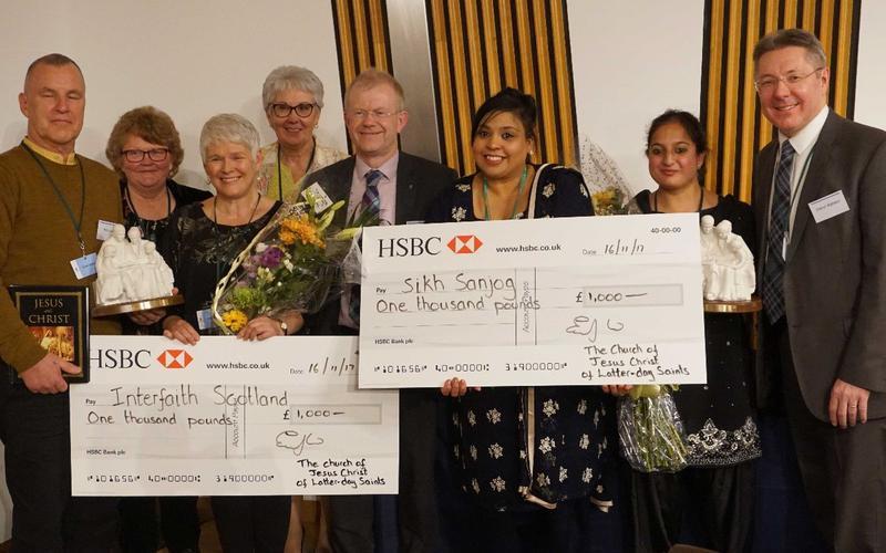 Two honoured at Scottish Interfaith Awards