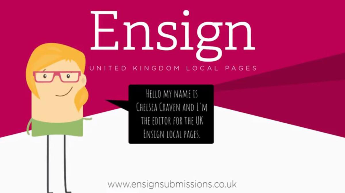 Ensign Local Pages Submission Site