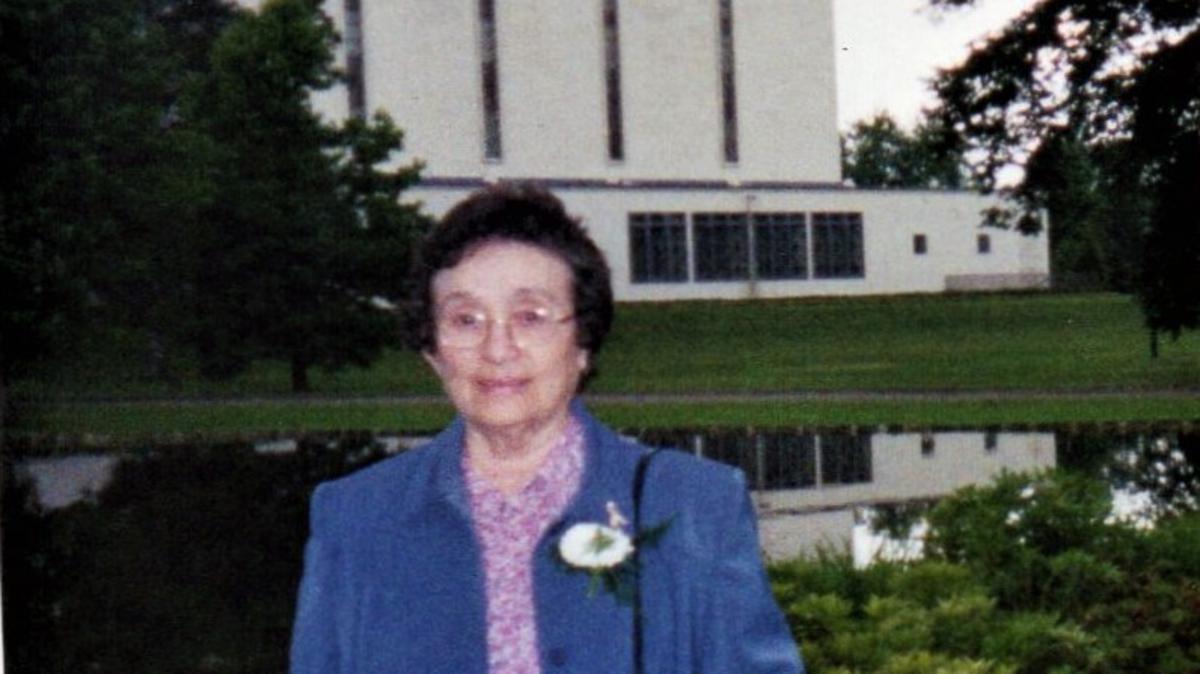 Barbara at the London Temple