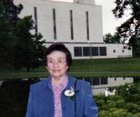 Barbara at the London Temple