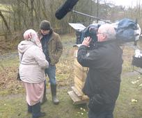 Matt Baker interviewing