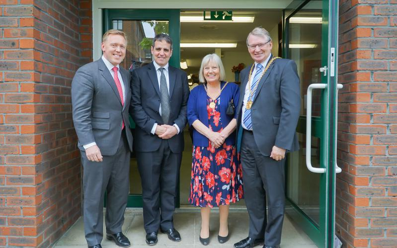 Members Enjoy Service with the Mayor and Mayoress of Guildford