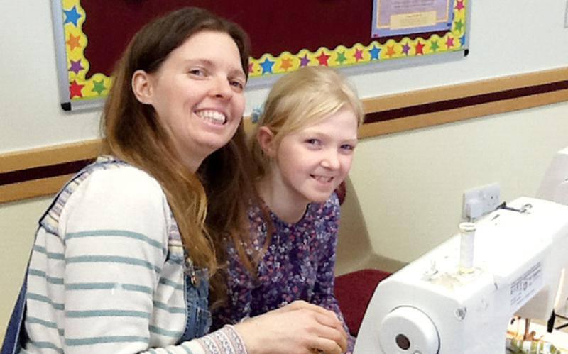 Plymouth Stake Sisters' Day Helps Local Charities