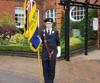 Sam Carruthers and The Royal British Legion