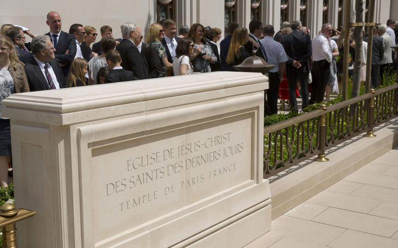 President Eyring Dedicates France Paris Temple