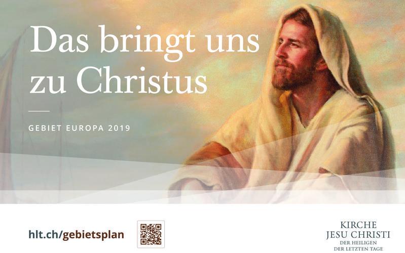 Das bringt uns zu Christus