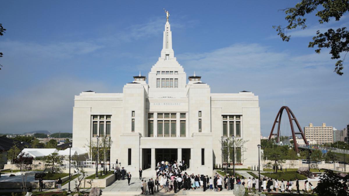 日本札幌神殿 奉献の祈り