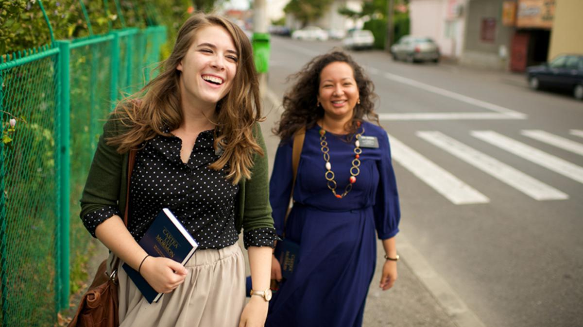 어떤 자매 선교사들의 이야기