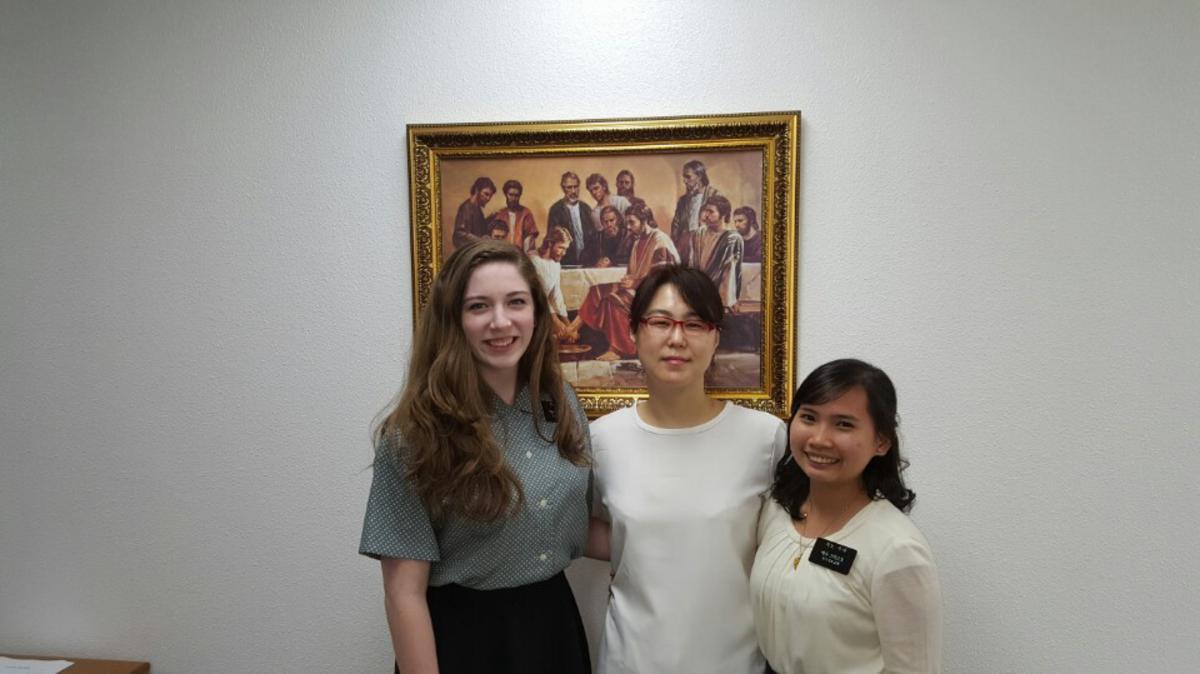 김은영 자매 침례식