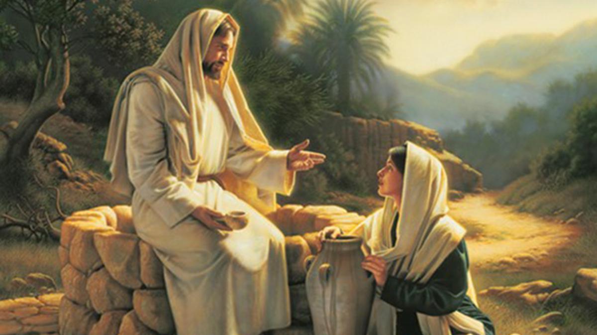 예수 그리스도와 사마리아 여인