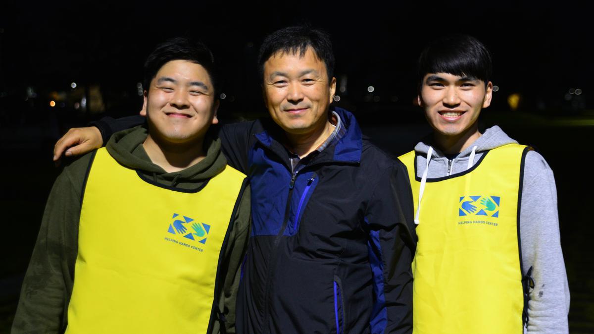 부산 스테이크 가족 캠페인 활동 사진