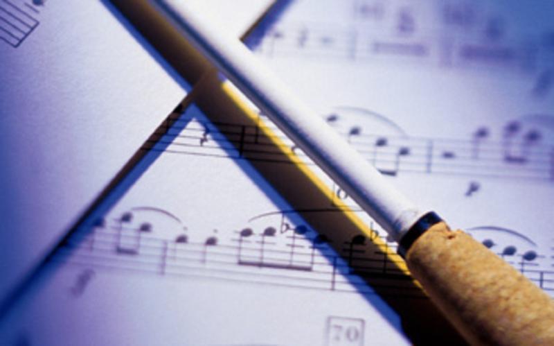 music and baton