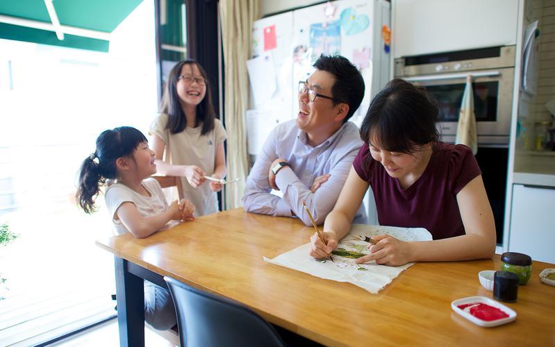 함현철 형제 가족 활동 사진