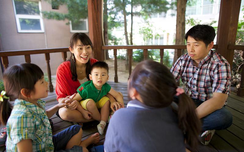 김선영 자매 가족 활동 사진