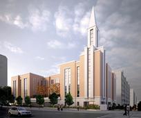 새로운 인천 집회소 기공식