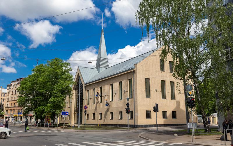 Rīgas centra draudzes nams