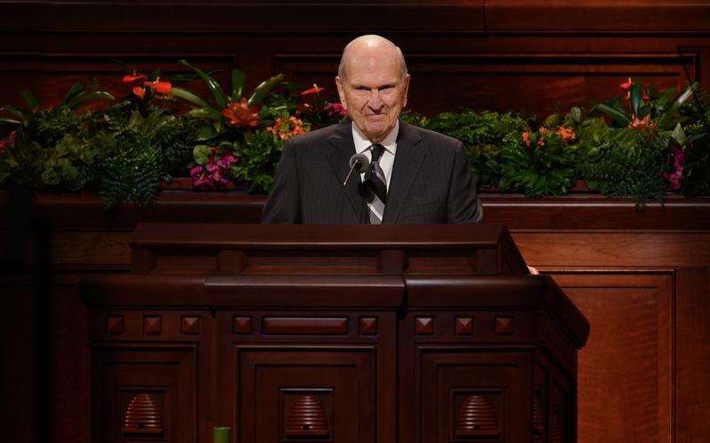 """Prezidents Nelsons uzsver Jēzus Kristus Vārda nozīmi Baznīcas nosaukumā: """"Šī ir Viņa Baznīca"""""""