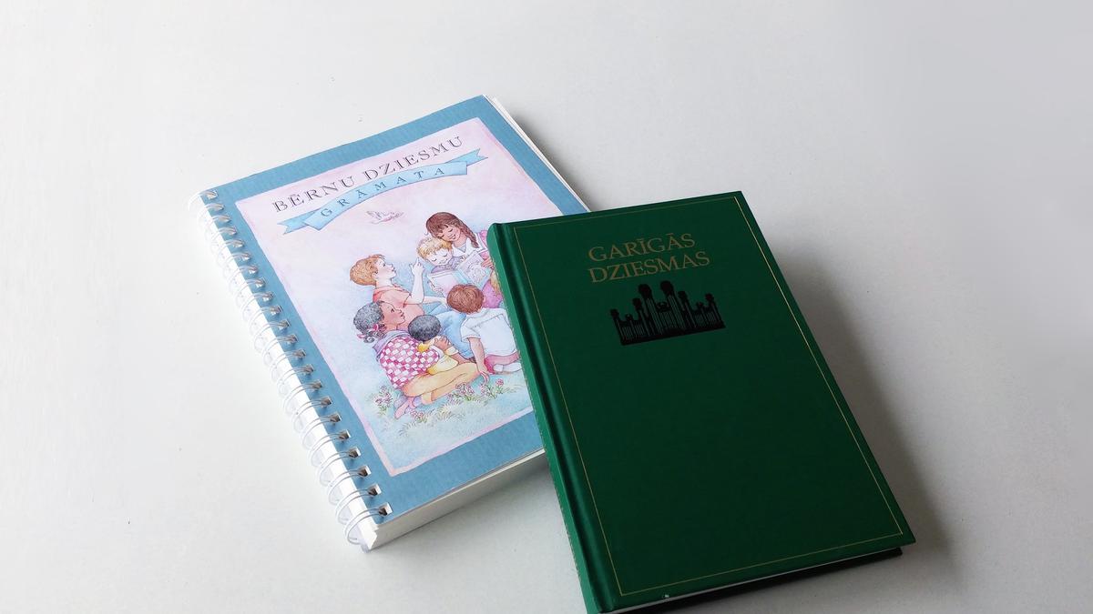 Iznākušas Baznīcas dziesmas pieaugušajiem un bērniem latviešu valodā