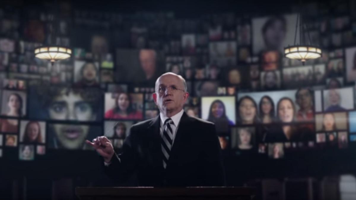 Skaņdarbs #Aleluja pasaules lielākā virtuālā kora izpildījumā