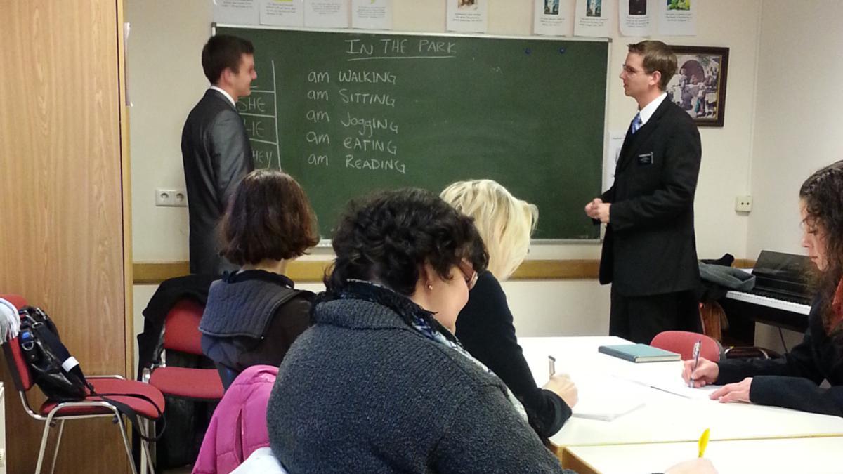anglų kalbos pamoka