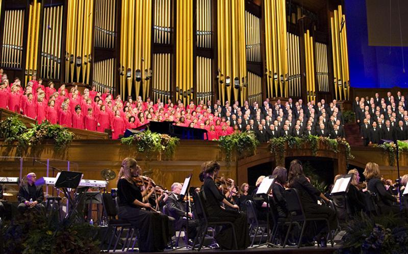 Concierto del Coro del Tabernáculo Mormón por el Día de los Pioneros