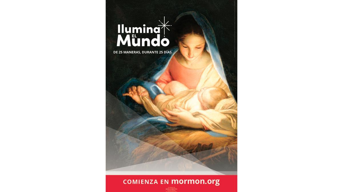 Cartel Ilumina el Mundo 11X17