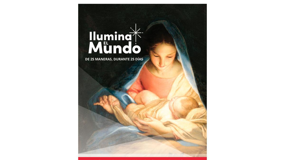 Cartel Ilumina el Mundo 18x24