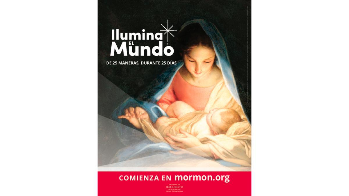 Cartel Ilumina el Mundo 8x11