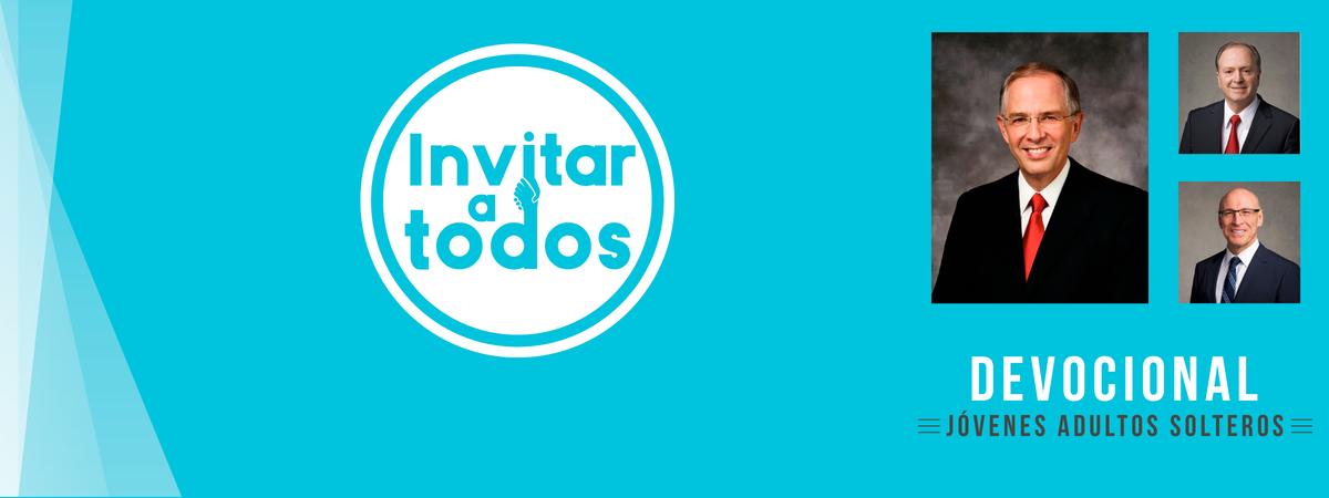 Portada del devocional especial para JAS de México, Invitar a todos.