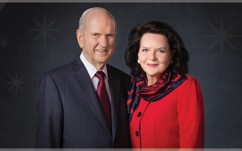 El presidente Russell M. Nelson y su esposa, la hermana Wendy W. Nelson