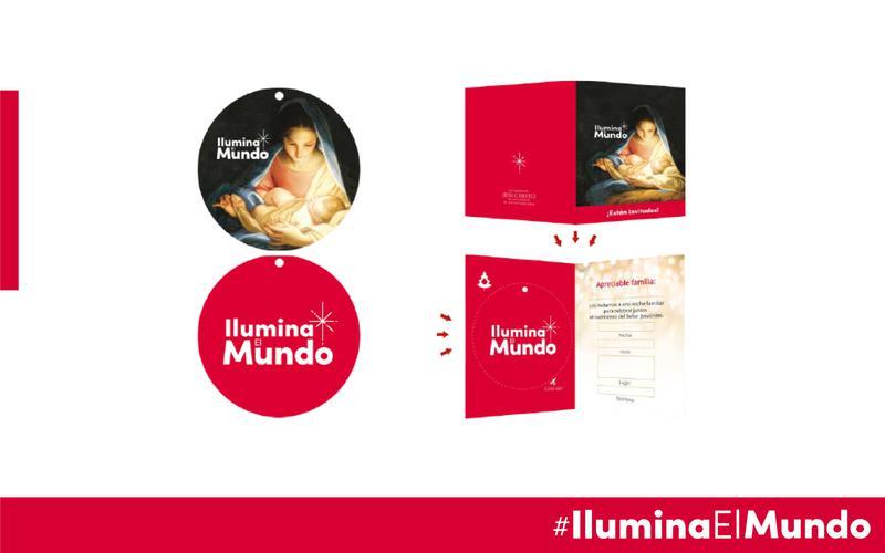 Invitación Noche de Hogar de IluminaElMundo