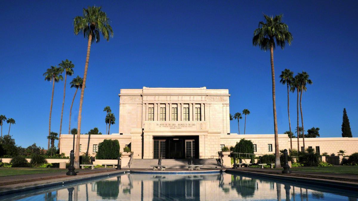 Templo de Mesa Arizona