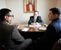 Reunión de obispado.