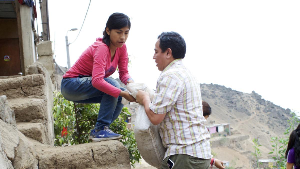 Proyecto de servicio en Perú