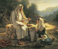Jesucristo, el Hijo de Dios, enseñando el camino que debemos vivir.