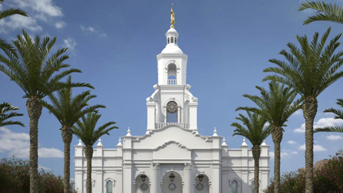 Se efectúa la palada inicial del Templo de Tijuana