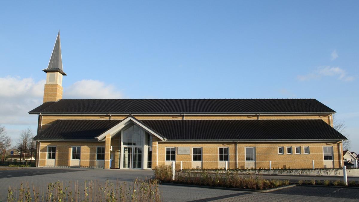 Ruim nieuw kerkgebouw in Zoetermeer