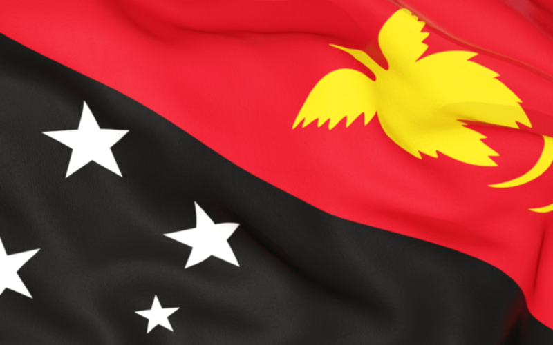 Papua New Guinea Flag