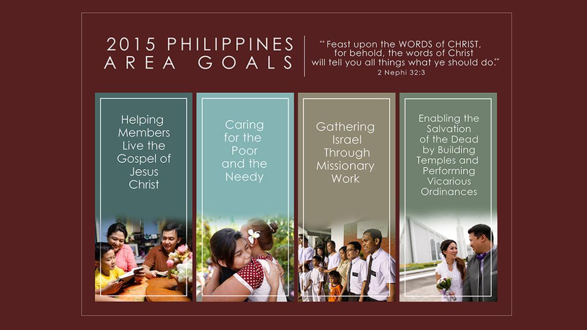 Philippines Area Goals 2015