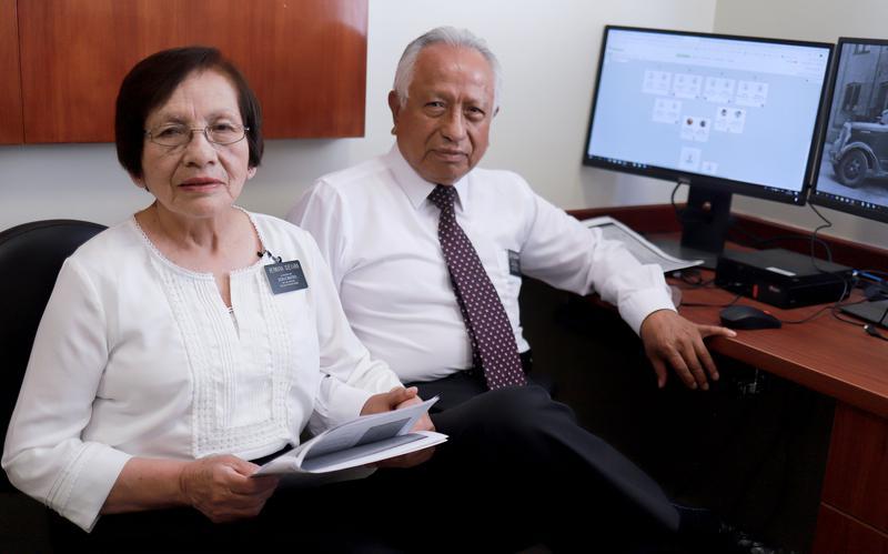 Misioneros mayores de tiempo completo viviendo en casa
