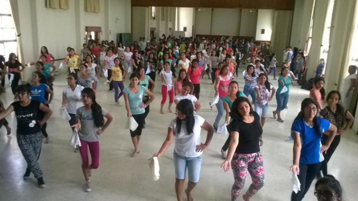 Ensayos para Evento Cultural por Dedicación del Templo de Trujillo