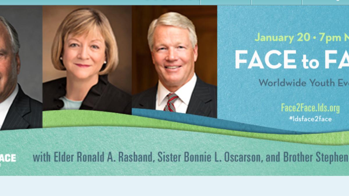 Face to Face con Elder Rasband, Sister Oscarson y Brother Owen