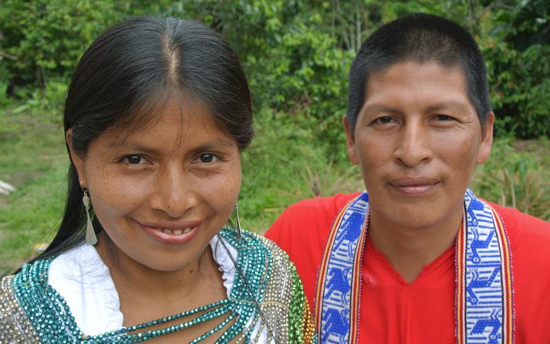 Ruth y Wilson Simarrón
