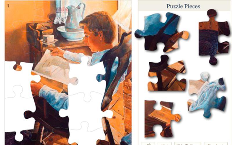 Armando puzzles - rompecabezas en el día de reposo