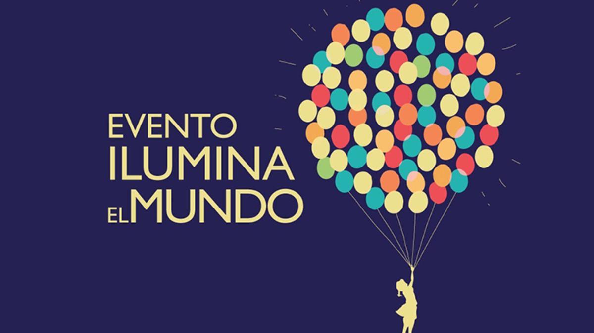 Lanzamiento de globos luminosos en Palermo
