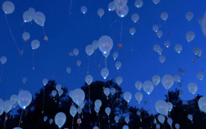 Lanzamiento de globos
