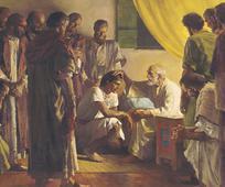 Jacob bendice a sus hijos