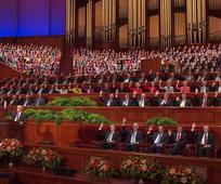 Sostenimiento en la Conferencia General Semestral 186