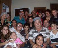 Luis Tidei en reunion familiar