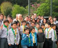 Elder Gonzalez y Scout Chile